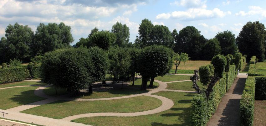 Barockgarten im Kloster Neuzelle